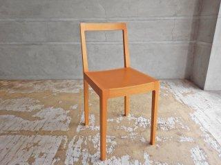 宮崎椅子製作所 R+R chair ダイニングチェア 小泉誠 ブナ材 グッドデザイン賞 板座 廃盤 ♪