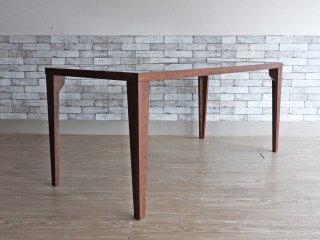フライミーヴェール FLYMEe vert レノン162 ダイニングテーブル LENON162 ガラストップ ナチュラルモダン 藤栄 FUJIEI ●