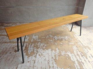 アクメファニチャー ACME Furniture グランビュー ベンチ GRANDVIEW BENCH オーク無垢材 インダストリアル 廃番タイプ ♪