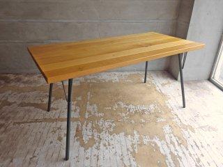 アクメファニチャー ACME Furniture グランビュー ダイニングテーブル GRANDVIEW DINING TABLE オーク無垢材 インダストリアル 廃番タイプ ♪