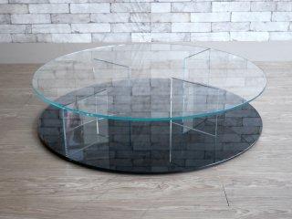 カッシーナ Cassina メックス MEX ローテーブル ラウンドタイプ ブラックベース 269-MEX ピエロ・リッソーニ 定価:\390,500- ●
