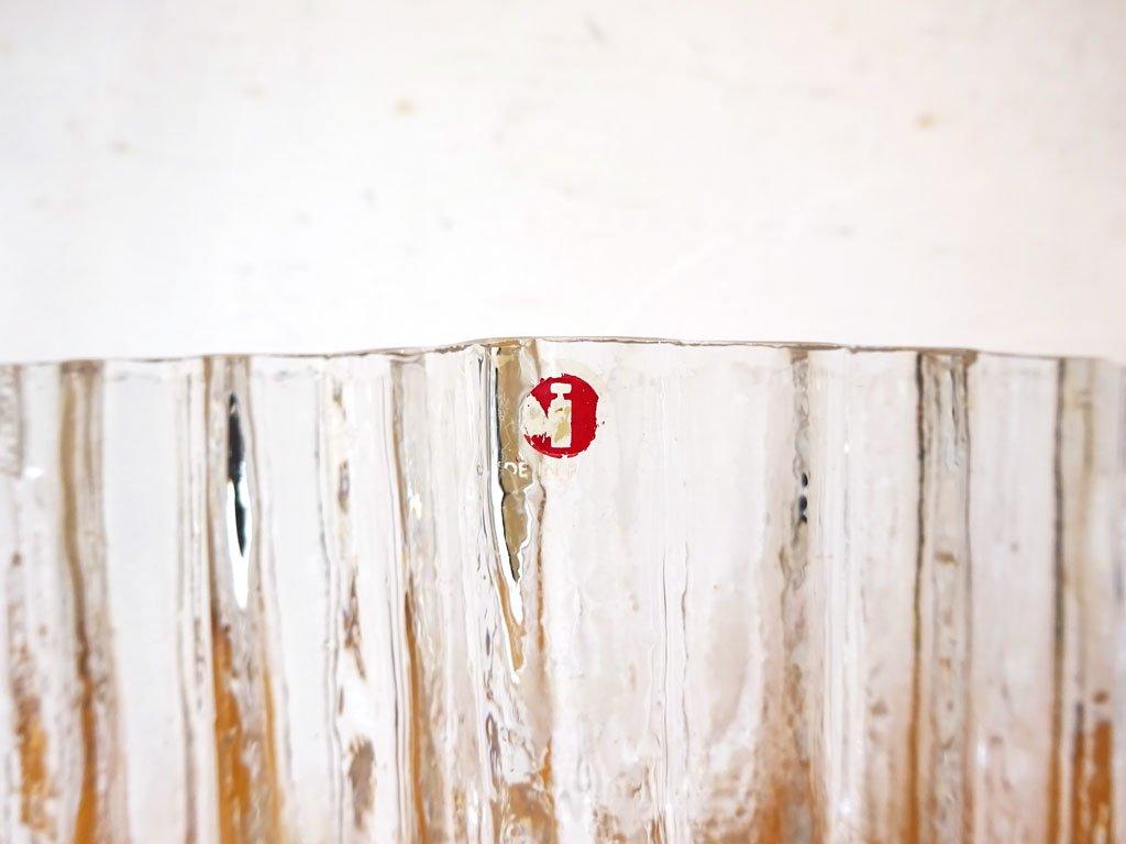 イッタラ iittala ピヌス Pinus フラワーベース クリア ガラス タピオ・ヴィルカラ Tapio Wirkkala フィンランド 北欧 ビンテージ ★