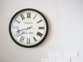 ニューゲート NEW GATE バタースビー ウォールクロック BATTERSBY WALL CLOCK 英国  掛け時計 ◎