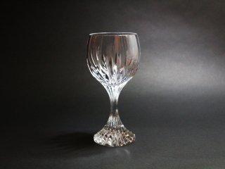 バカラ Baccarat マッセナ ワイングラス カットグラス クリスタルガラス フランス 定価¥27,500- A ◎