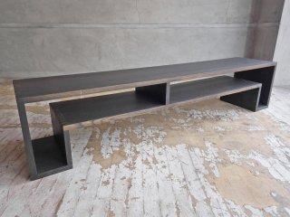アボード abode ショージ SHOJI オケージョナル テーブル Occasional Table Large ローテーブル AVボード オーク材 ダークブラウン 定価:\70,400- ♪