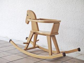 ゴイター Geuther ロッキングホース ガード付き 木馬 ドイツ ボーネルンド取扱い 乗用玩具  ◇