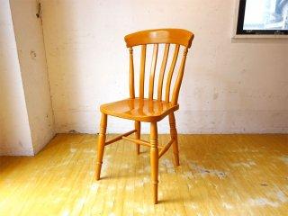 カーフ Karf Basic furniture キッチンチェア ブナ無垢材 イギリスアンティークチェア モチーフ 2 ★