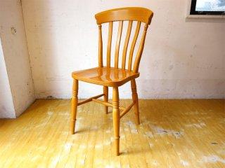 カーフ Karf Basic furniture キッチンチェア ブナ無垢材 イギリスアンティークチェア モチーフ 1 ★
