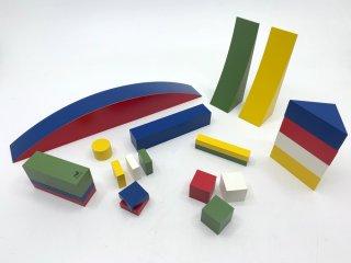 ネフ Naef Spielkultur バウハウス バウスピール Bauhaus Bauspiel アルマ・ジートホフ・ブッシャー 積み木 知育玩具 箱付き スイス ●