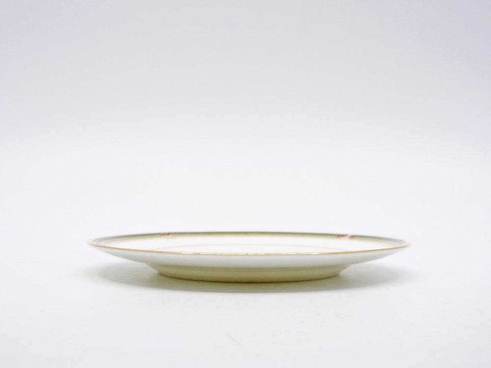 ウェッジウッド WEDGWOOD オベロン oberon 白磁プレート 15cm パン皿 旧刻印 ボーンチャイナ BONE CHINA 廃番品 英国 A ♪
