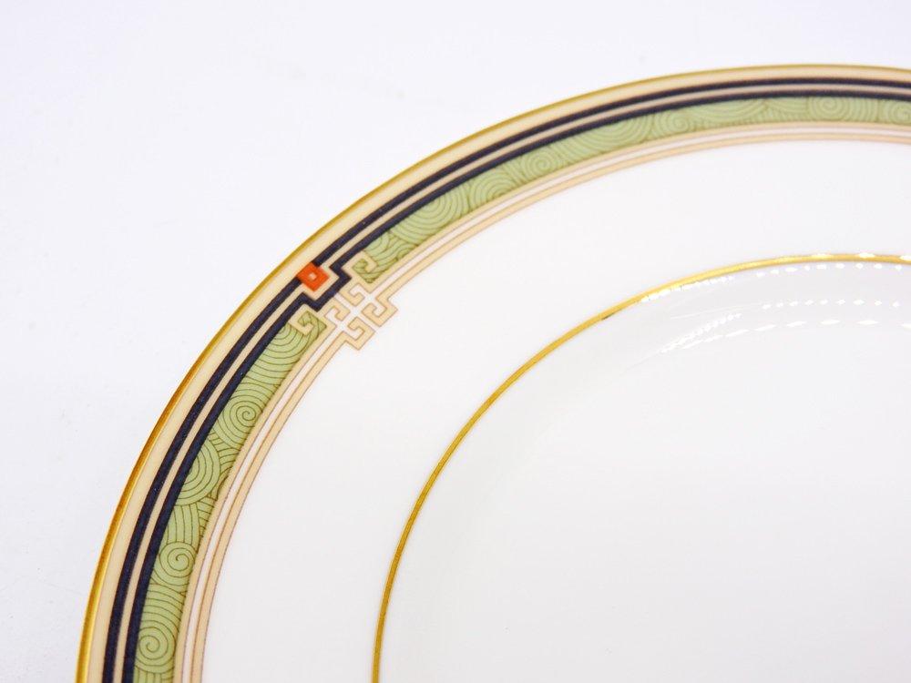 ウェッジウッド WEDGWOOD オベロン oberon 白磁プレート 15cm パン皿 旧刻印 ボーンチャイナ BONE CHINA 廃番品 英国 C ♪
