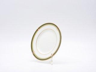 ウェッジウッド WEDGWOOD オベロン oberon 白磁プレート 15cm パン皿 旧刻印 ボーンチャイナ BONE CHINA 廃番品 英国 D ♪