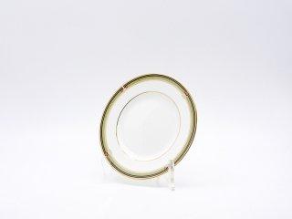 ウェッジウッド WEDGWOOD オベロン oberon 白磁プレート 15cm パン皿 旧刻印 ボーンチャイナ BONE CHINA 廃番品 英国 G ♪