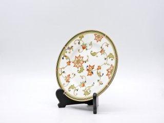ウェッジウッド WEDGWOOD オベロン oberon 白磁プレート 20cm デザート皿 旧刻印 ボーンチャイナ BONE CHINA 廃番品 英国 B ●