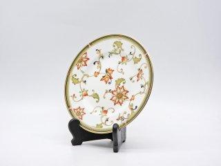 ウェッジウッド WEDGWOOD オベロン oberon 白磁プレート 20cm デザート皿 旧刻印 ボーンチャイナ BONE CHINA 廃番品 英国 F ●