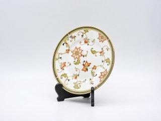 ウェッジウッド WEDGWOOD オベロン oberon 白磁プレート 20cm デザート皿 旧刻印 ボーンチャイナ BONE CHINA 廃番品 英国 G ●