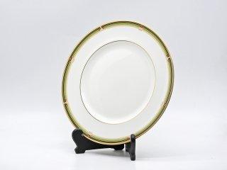ウェッジウッド WEDGWOOD オベロン oberon 白磁プレート 27cm ディナー皿 大皿 旧刻印 ボーンチャイナ BONE CHINA 廃番品 英国 A ♪