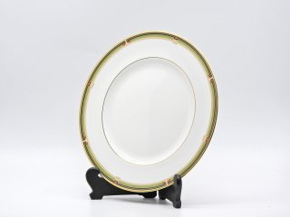 ウェッジウッド WEDGWOOD オベロン oberon 白磁プレート 27cm ディナー皿 大皿 旧刻印 ボーンチャイナ BONE CHINA 廃番品 英国 B ♪