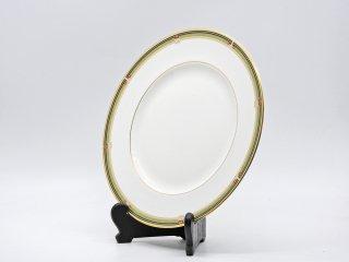 ウェッジウッド WEDGWOOD オベロン oberon 白磁プレート 27cm ディナー皿 大皿 旧刻印 ボーンチャイナ BONE CHINA 廃番品 英国 C ♪