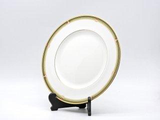 ウェッジウッド WEDGWOOD オベロン oberon 白磁プレート 27cm ディナー皿 大皿 旧刻印 ボーンチャイナ BONE CHINA 廃番品 英国 D ♪