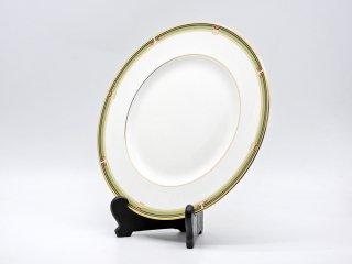 ウェッジウッド WEDGWOOD オベロン oberon 白磁プレート 27cm ディナー皿 大皿 旧刻印 ボーンチャイナ BONE CHINA 廃番品 英国 E ♪