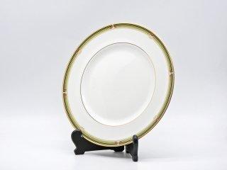 ウェッジウッド WEDGWOOD オベロン oberon 白磁プレート 27cm ディナー皿 大皿 旧刻印 ボーンチャイナ BONE CHINA 廃番品 英国 F ♪