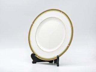 ウェッジウッド WEDGWOOD オベロン oberon 白磁プレート 27cm ディナー皿 大皿 旧刻印 ボーンチャイナ BONE CHINA 廃番品 英国 H ♪