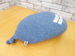 ドナウィルソン スタジオ DONNA WILLSON STUDIO バルーンクッション balloon cushion ウール100% ポリエステル ブルー ●