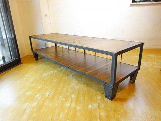 ジャーナルスタンダード ファニチャー journal standard Furniture カルビ CALVI AVボード Lサイズ テレビボード ローボード 定価¥69,300- ★