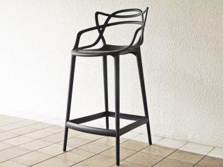 カルテル Kartell マスターズ スツール 65 Masters stool ブラック フィリップ ・ スタルク Philippe Starck イタリア 定価¥59,700- B ◇