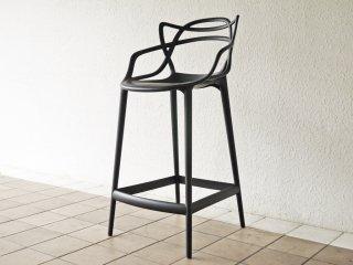カルテル Kartell マスターズ スツール 65 Masters stool ブラック フィリップ ・ スタルク Philippe Starck イタリア 定価¥59,700- A ◇