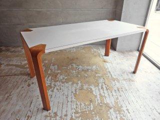 天童木工 TENDO アントラー ANTLER ダイニングテーブル W150 チーク材 坂倉準三 ビンテージ ♪