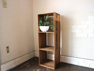 アクメ ファニチャー ACME furniture ディーボディ d-Bodhi トロイ オープンシェルフ 3段 L キャビネット ローボード AVボード 定価¥24,200- ◎