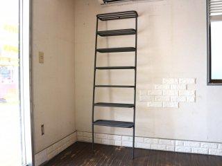 デュエンデ DUENDE ウォールラック WALL RACK 壁掛け シェルフ 7段 スチール グレー H180cm SEMPRE取扱い 定価¥30,800- ◎