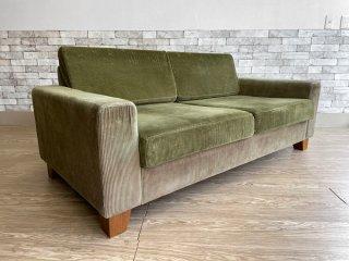 ジャーナルスタンダードファニチャー journal standard Furniture リヨン ソファ LYON SOFA 2P コーデュロイ生地  ●