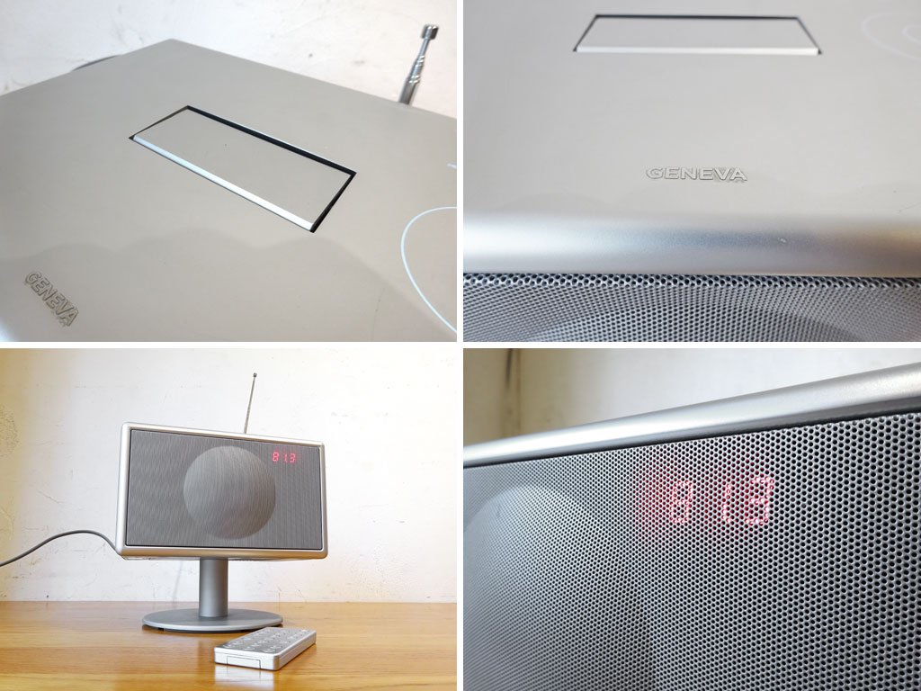 ジェネーバ サウンドシステム モデルS GENEVA SOUND SYSTEM Model S オーディオ スピーカー Silver シルバー ipod対応 ★