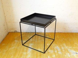 ヘイ HAY トレイテーブル Tray Table スクエア ブラック 40cm サイドテーブル デンマーク コンラン取扱 ★