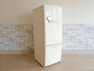 ナショナル National ウィル WiLL FRIDGE mini パーソナルノンフロン冷凍冷蔵庫 フリッジミニ ホワイト 廃番 2002年製 162L オリジナル ノスタルジックデザイン ●