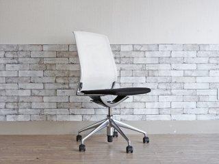 ヴィトラ vitra メダチェア Meda Chair オフィスチェア デスクチェア ワークチェア アームレス 昇降機能 リクライニングロック アルベルト・メダ ●