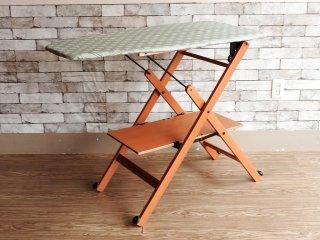フォッパぺドレッティ FOPPAPEDRETTI 木製 折りたたみ式 アイロン台 イタリア製 定価約\23,000- ●