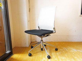 ヴィトラ vitra メダチェア Meda Chair オフィスチェア デスクチェア ワークチェア アームレス 昇降機能 リクライニングロック アルベルト・メダ ★