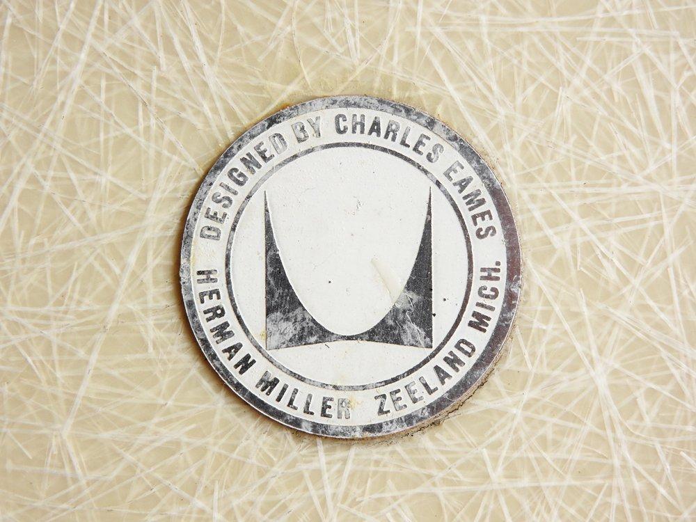ハーマンミラー Herman Miller サイドシェルチェア 2ndビンテージ FRP製 Hベース C&R イームズ ミッドセンチュリー ●