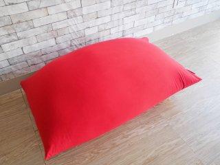 ヨギボー yogibo ミディ midi ビーズクッション ソファ レッド 定価¥28,380- ●