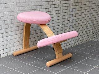サカモトハウス SAKAMOTO HOUSE リボ Rybo バランスイージー Balance Easy ピンク バランスチェア 学習椅子 ■