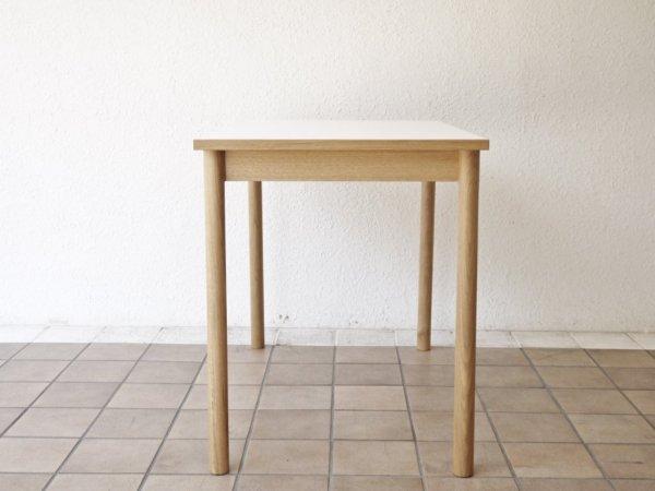 イデー IDEE スティルト テーブル STILT TABLE メラミントップ ホワイト マリナ・ボーティエ 定価55,000円 美品 ◇