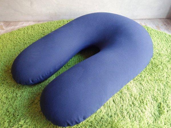 ヨギボー yogibo サポート Support ビーズソファ ビーズクッション クッション 背もたれ&肘置き ネイビー 定価15,290円 ♪