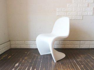 ヴィトラ vitra パントンチェア ジュニア Panton Chair Junior ホワイト ヴェルナー・パントン Verner Panton スタッキング キッズ チェア ミニ ◎