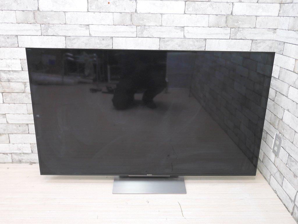 ソニー SONY ブラビア BRAVIA 55型液晶テレビ KJ-55X9300D トリプルチューナー 4K 3D Wi-Fi Bluetooth 対応 Android TV 薄型 2016年製 ●
