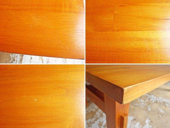 ウニコ unico ブレス BREATH ローテーブル センターテーブル チーク無垢材 廃番 希少 ♪