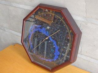 シチズン CITIZEN クラブ ラメール CLUB LA MER コスモサイン 八角形 天体観測 壁掛け時計 ウォールクロック 現状品 ♪